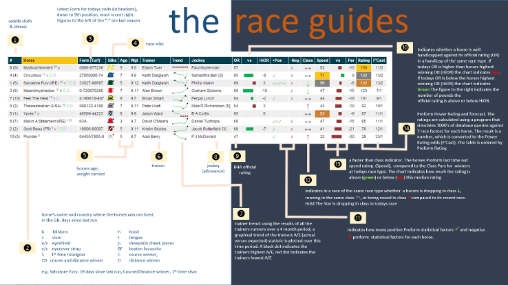 Race Guides