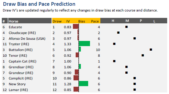 Lingfield Winter Derby Pace Analysis